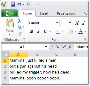 excel-wrapping-text